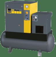 Šroubový kompresor Schneider, AirMaster ENTRY s kondenzační sušickou a na vzdušníku
